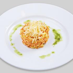 Салат из пряной моркови с курицей и сыром (СРЕДА)
