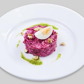 Салат из свеклы с сыром (ПОНЕДЕЛЬНИК)