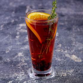 Ароматный смородиновый чай