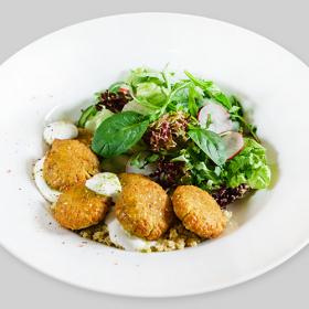 ФИТНЕС МЕНЮ: Фалафель с овощным салатом