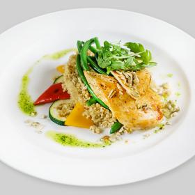 ФИТНЕС МЕНЮ: Филе куриное с овощами