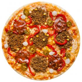 """Пицца """"Мексиканская"""" в пиццерии Темпо"""