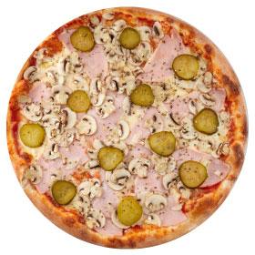 "Пицца ""Народная"" 26 см., на тонком тесте"