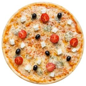 "Пицца ""Палитра сыров"" 26 см., на тонком тесте"
