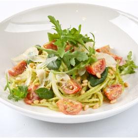 Паста с соусом Песто и кедровыми орешками/Спагетти